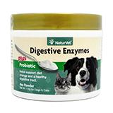 NaturVet Enzymes and Probiotics Powder 4oz