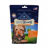 Blue Bones Small Natural Dental Treat for Dogs 12-oz