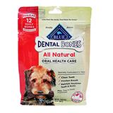 Blue Bones Regular Natural Dental Treat for Dogs 12-oz