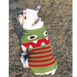 Handmade Dog Sweater Wool Lil Monster XXLarge