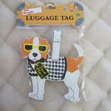 Luggage Tag I Love My Beagle