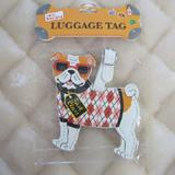 Luggage Tag I Love My Bulldog
