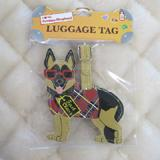 Luggage Tag I Love My German Shepherd