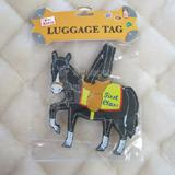 Luggage Tag I Love My Horse