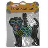 Luggage Tag I Love My Labrador