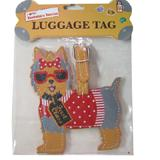 Luggage Tag I Love My Yorkie