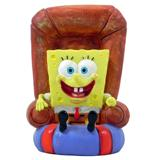 Sponge Bob Square Pants in a Chair Aquarium Ornament