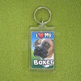 Plastic Keyring Boxer