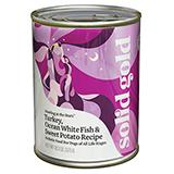 Solid Gold Turkey, Oceanfish and Carrots canned Dog Food cs