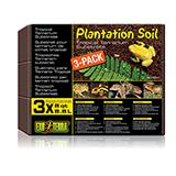 Exo Terra Plantation Soil Natural Terrarium Substrate 3 pack