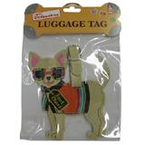 Luggage Tag I Love My Chihuahua