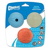 Chuckit Fetch Ball Medley 3pk