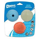Chuckit Fetch Ball Medley 3pk