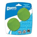 Chuckit Erratic Ball Medium 2pk