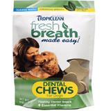 Tropiclean Dental Chews Dog Treats 6-oz.