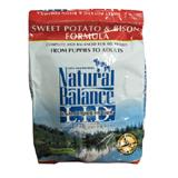 Natural Balance Sweet Potato & Bison Allergy Dog Food 4.5Lb