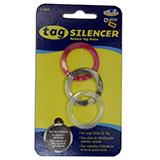 Tag Silencer Large Circle Dog Tag Accessory 3 Pack