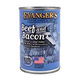 Evanger's Beef and Bacon Dinner Canned Dog Food 13-oz. each