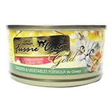 Fussie Cat Chicken w/Veggies Gravy Canned Cat Food 2.8 oz ea