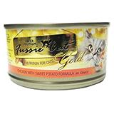 Fussie Cat Chicken Veggie Brown Rice Canned Cat Food 2.8 oz