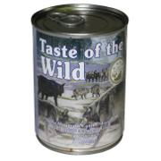 Taste of the Wild Sierra Mountain Canned Dog Food each