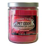Pet Odor Eliminator Candle Crimson Twilight-Seasonal