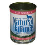 Natural Balance Ultra Beef Canned Dog Food 13oz. each