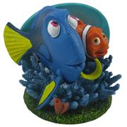 Dory and Marlin Aquarium Ornament