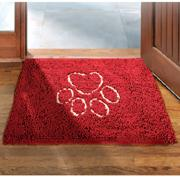 Dog Gone Smart Dirty Dog Doormat Maroon Medium
