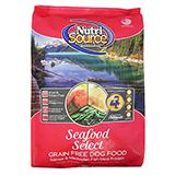 NutriSource Seafood Select Entree Grain Free Dog Food 15lb