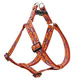 Lupine Nylon Dog Harness Step In Go Go Gecko 24-38-inch