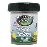 Omega One Frog and Tadpole Pellets 1.2oz