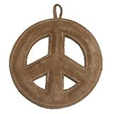 Water Buffalo Leather Peace Tug Small