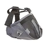 Dog Muzzle Short Snout Small Charcoal