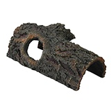 Zilla Bark Bend Medium Resin Terrarium Accessory