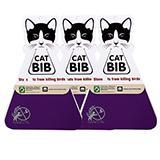 CatBib WildBird Saver Purple Small 3 pack