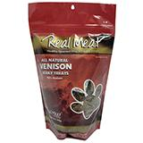 Real Meat All Natural Venison Dog Jerky Treats 12oz.