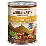 Whole Earth Grain Free Chicken Stew 12oz each