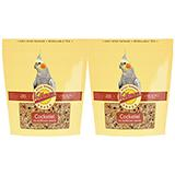 Avian Science Super Cockatiel NO Sun 4 pound Bird Seed 3pk