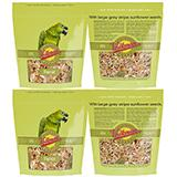 Volkman Avian Science Super Parrot Seed Mix 4 lb 4 Pack