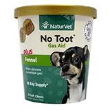 NaturVet No Toot Gas Aid 70 count