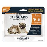 Capguard Fleat Treatment for Dogs and Cats Under 25Lbs.