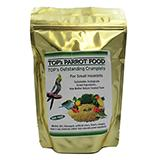 TOP's Crumplets Organic Bird Food for Small Hookbills 12oz.