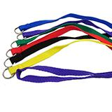 Nylon Flat Kennel Dog Lead 4 x 1/2 6 pack