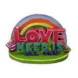 All You Need Is Love Official Beatles Aquarium Ornament