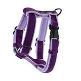 Planet Dog Cozy Hemp Harness Large Purple