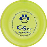 Hyperflite Competition Standard Pup Yellow Dog Disc