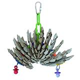Super BIrd Mini Pineapple Twist Bird Toy