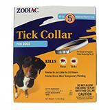 Zodiac Flea and Tick Collar 5 month Dog