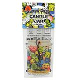 Candle For the Car Happy Days Odor Eliminator